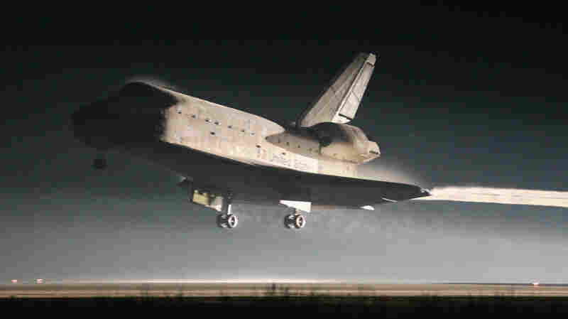 Space Shuttle Lands, Ending 30-Year Era
