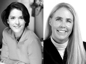 Religion correspondent Barbara Bradley Hagerty (left) and former NPR ombudsman Alicia Shepard (right).