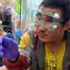 Blind Teens Tap Into Senses At Chemistry Camp