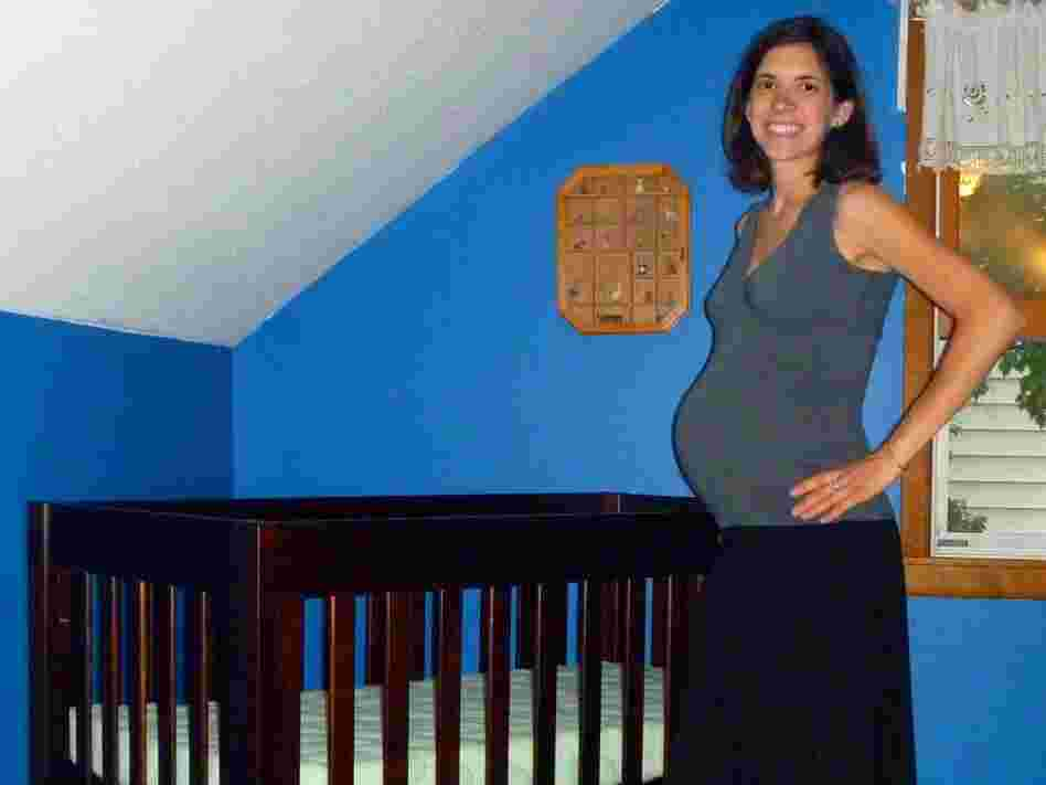Emily Grace Whebbe spent hours researching what crib to buy before settling on this model by Babyletto.