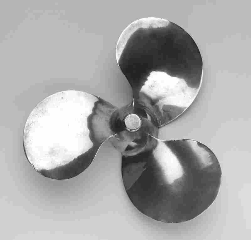Outboard Propeller, by Aluminum Company of America was also featured in MoMA's 1934 show.