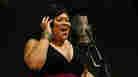 "Martha Wash sings her classic ""It's Raining Men"" at NPR headquarters in Washington, D.C., on July 20."