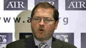 Americans for Tax Reform President Grover Norquist speaks on Capitol Hill in April.