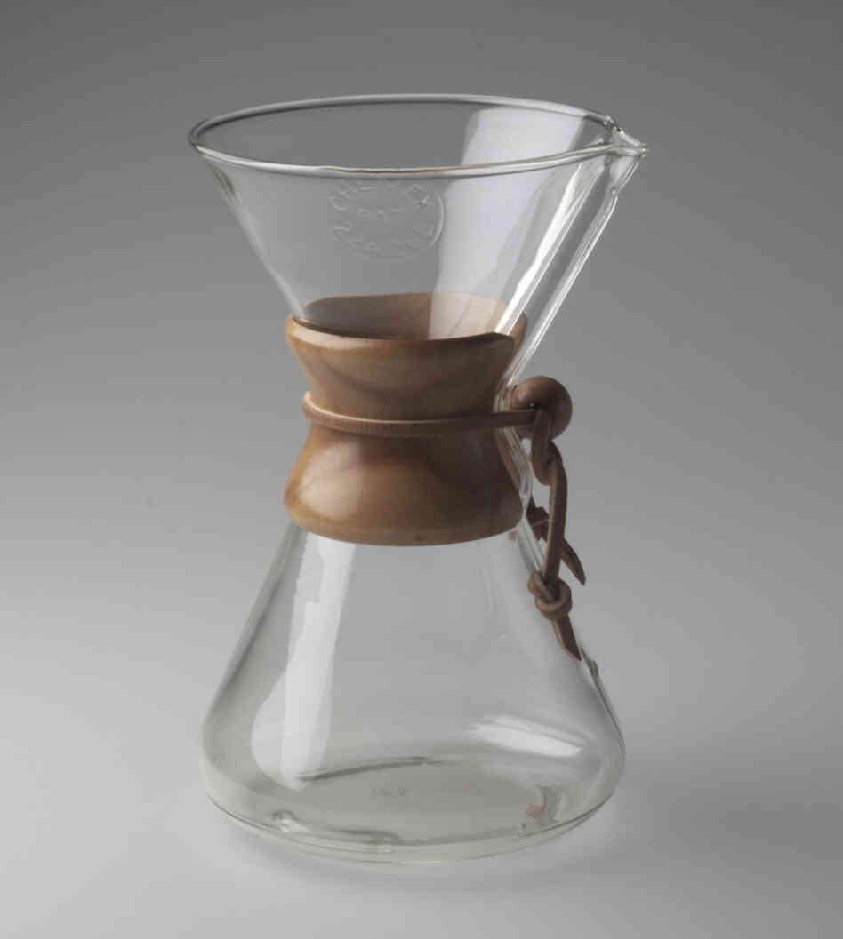 Chemex Coffee Maker Moma : Form And Function Meet In Modern By Design : NPR