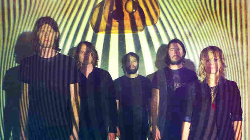 Austin, TX neo-psychedelic band the Black Angels perform live on today's World Cafe.