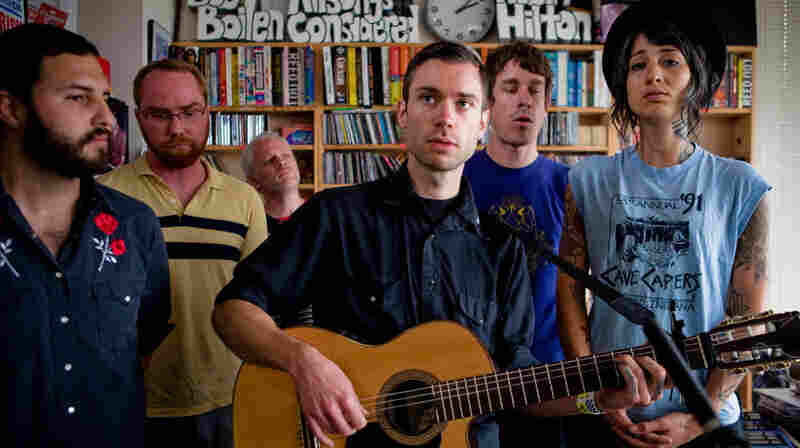 Y La Bamba perform a Tiny Desk Concert at the NPR Music offices.