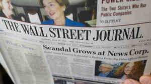 The News Corp.-owned Wall Street Journal blasted critics  for double standards and