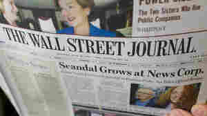 The News Corp.-owned Wall Street Journal blasted critics  for double standards and insisted that the phone-tapping scandal in Britain should not tarnish all of Rupert Murdoch's media empire.