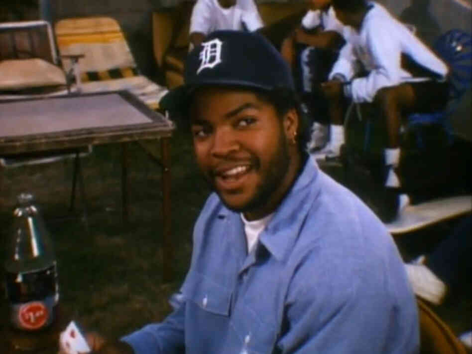 Ice Cube's first-ever acting role was as troublemaker Doughboy in Boyz N The Hood.