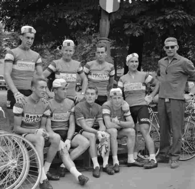 The Dutch team in 1960