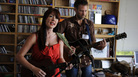 Amanda Shires performs a Tiny Desk Concert at the NPR Music offices.