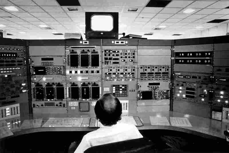 A Kennedy Space Center Saturn Apollo telemetry engineer in 1972.