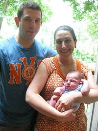 Ross Goldstein and Susanna Garfein decided to give their son Bram a bris when he was 8 days old. Neither had second thoughts. Garfein says she was surprised by the transcendence of the moment.