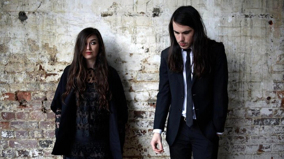 Cults perform live and talk about their new self-titled debut album on today's World Cafe. (Courtesy of the artist)