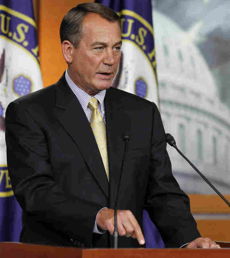 """House Speaker John Boehner (R-OH) said it was President Obama who """"walked away from this agreement."""""""