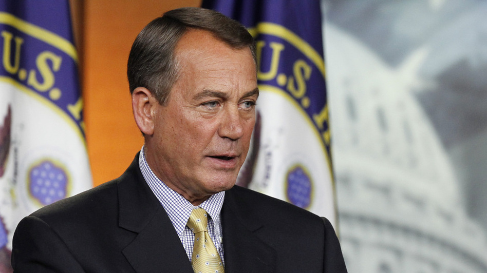 "House Speaker John Boehner (R-OH) said it was President Obama who ""walked away from this agreement."" (AP)"