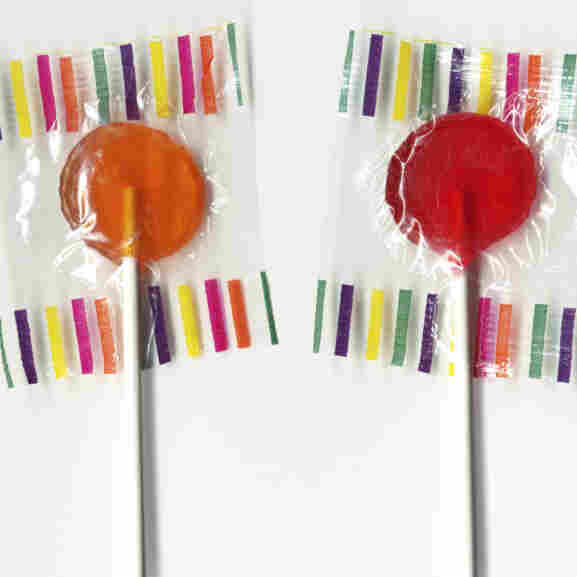 Can lollipops soothe the savage breast?