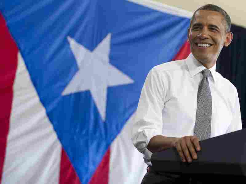 Last month, President Obama became the first sitting president since Kennedy to visit Puerto Rico — one of many recent events to reach out to Latinos.