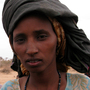 Saruuro Aden traveled on foot from southern Somalia across the Kenyan border with her four children. She says they walked for 10 days.