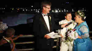 Same-Sex Couples Exchange Vows In New York