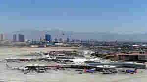 The plan to build a new control tower at McCarran International Airport in Las Vegas is one of the projects affected by the FAA shutdown.