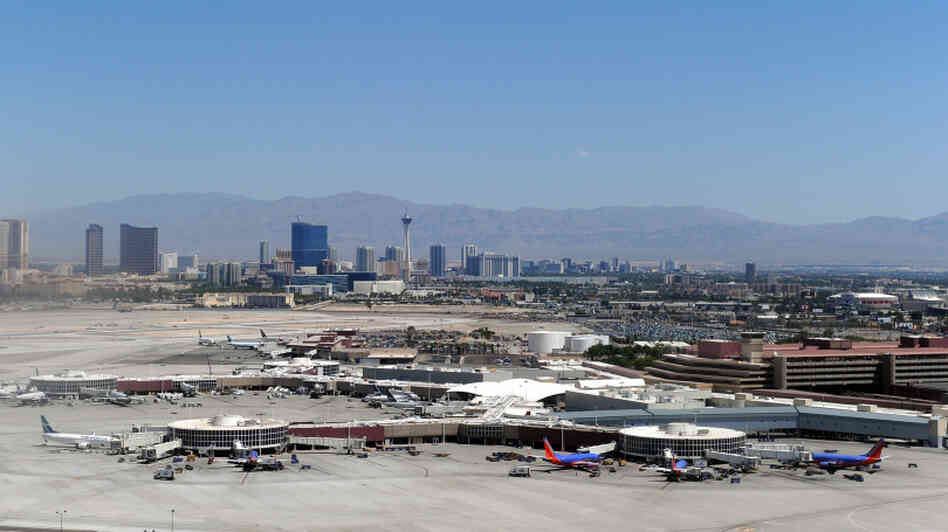 The plan to build a new control tower at McCarran