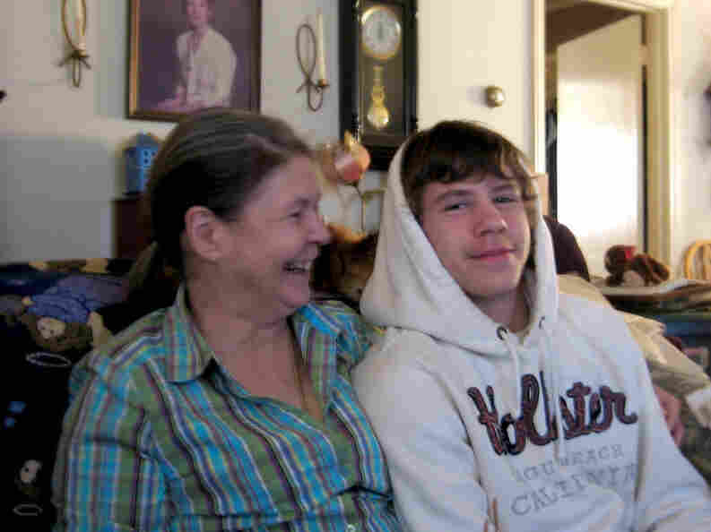 Nick Dunn, 16, gave up on school shortly after he lost his father. He lives with his mother, Deborah Gilmore Dunn, in rural South Carolina.