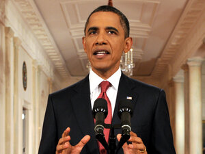 "President Obama called for a ""balanced approach"" to reducing the federal deficit."