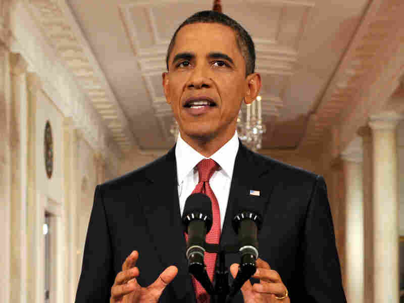 """President Obama called for a """"balanced approach"""" to reducing the federal deficit."""