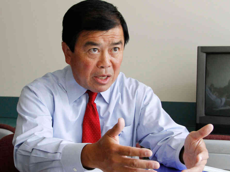 Seven-term U.S. Rep. David Wu (D-OR), shown last August.