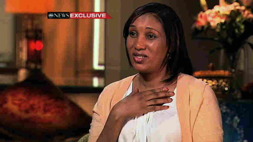 In this image from video provided by ABC News, Nafissatou Diallo, the alleged victim in the Dominique Strauss-Kahn assault case, speaks during an interview with Robin Roberts. Diallo told the network she never wanted to be in the public eye but had no choice, amid questions about her credibility.