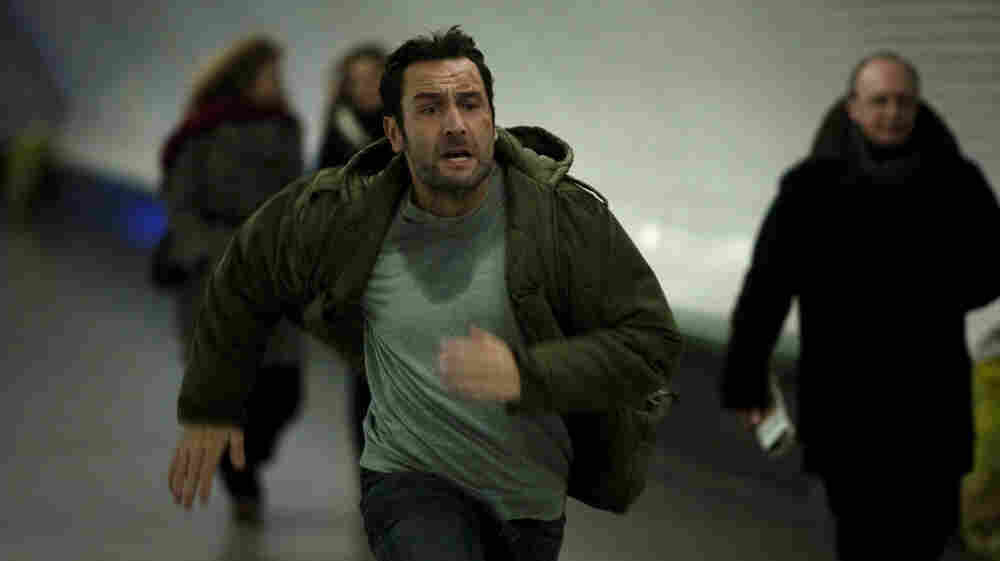 En Pointe: Nurse-trainee Samuel (Gilles Lellouche)  is on the run for much of Point Blank, which finds him  outmaneuvering (and eventually succumbing to) bad guys as a consequence of  saving a mysterious man's life.