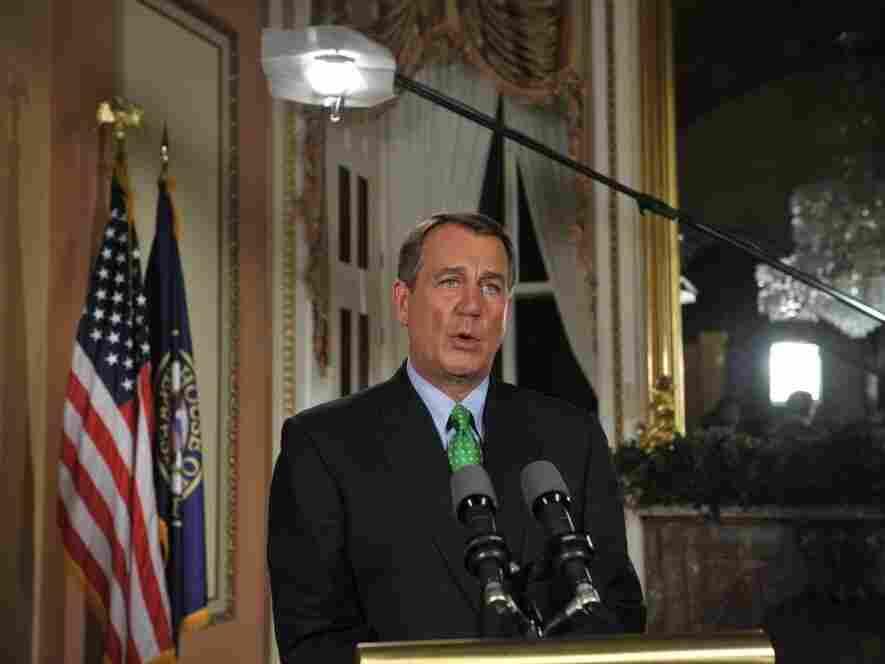 House Speaker John Boehner, U.S. Capitol, July 25, 2011.