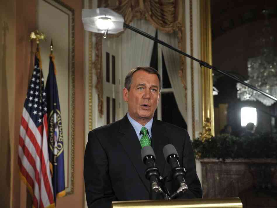 House Speaker John Boehner, U.S. Capitol, July 25, 2011.