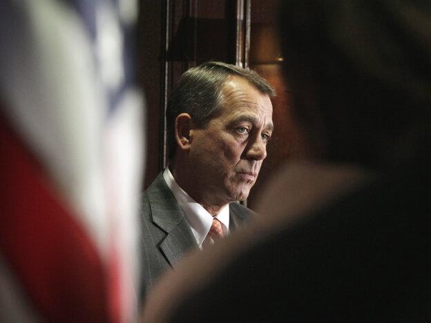 Speaker John Boehner, Tuesday, July 26, 2011.