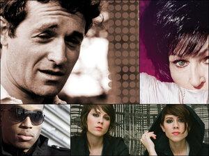 Clockwise from upper left: Ramblin' Jack Elliott, Wanda Jackson, Tegan and Sara, Trombone Shorty.