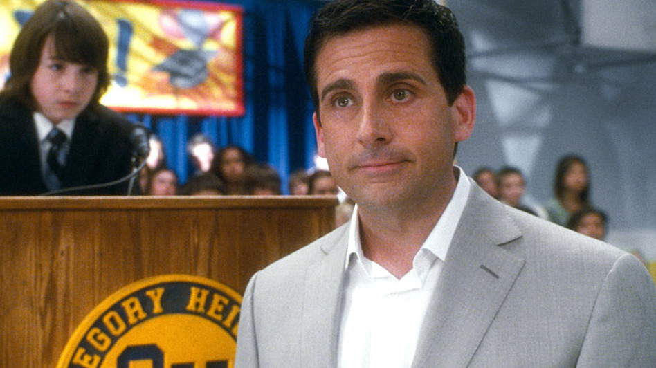 Steve Carell stars in Crazy, Stupid, Love as Cal Weaver, a soon-to-be divorcee who turns to Ryan Gosling for help in refining his dating skills. (Courtesy of Warner Bros. Picture)