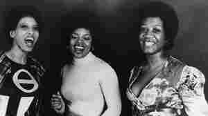 Labelle in the early 1970s. From left to right, Nona Hendryx, Sarah Dash and Patti Labelle.