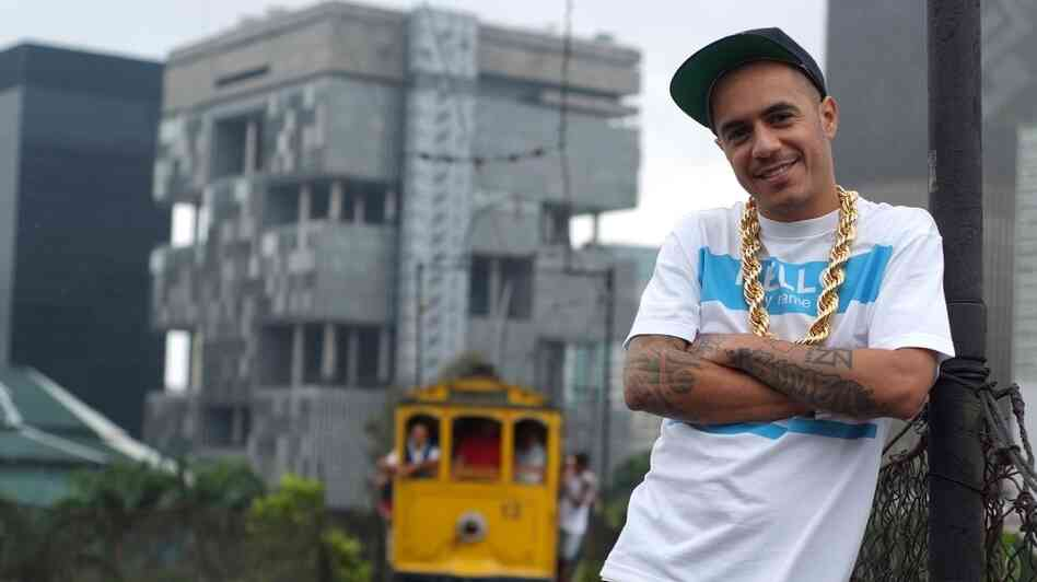 "Marcelo D2, the Brazilian artist who helped create ""samba-rap."""