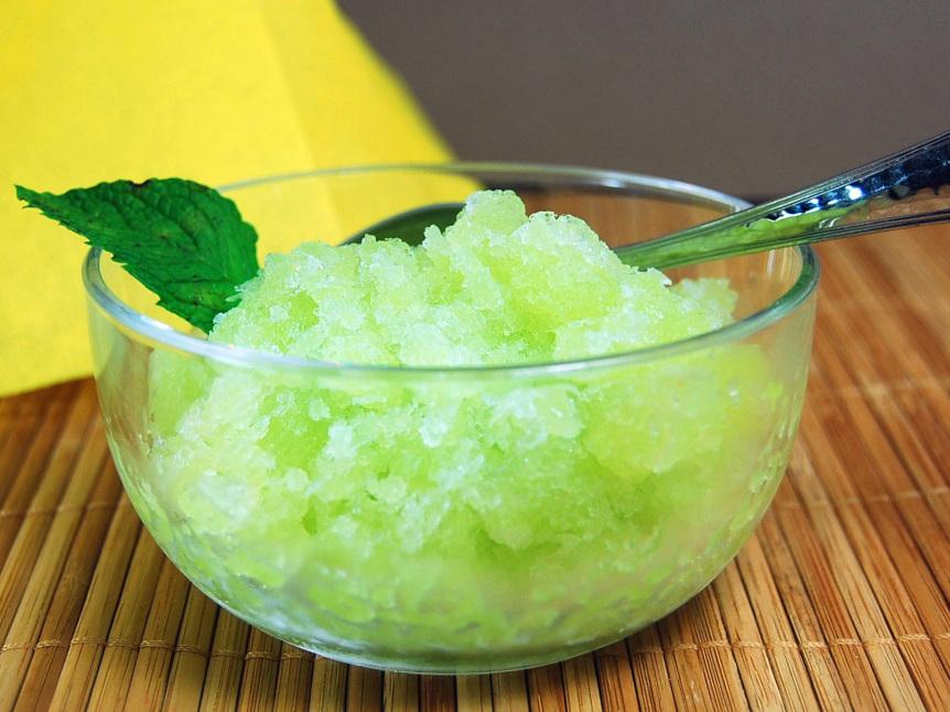 Honeydew Granita Recipe — Dishmaps
