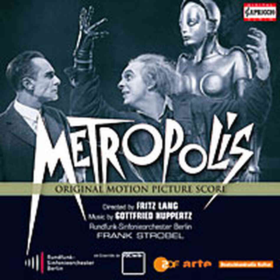Cover art for Metropolis movie score.