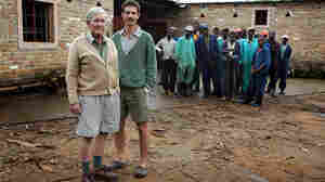 Ben Freeth (right) and Mike Campbell (left) are two of Zimbabwe's few remaining white farmers.