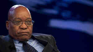 President Jacob Zuma at the World Economic Forum in Davos on Jan. 27, 2011.