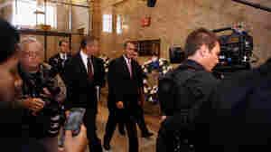 House Speaker John Boehner arrives for a House GOP caucus meeting on Wednesday.
