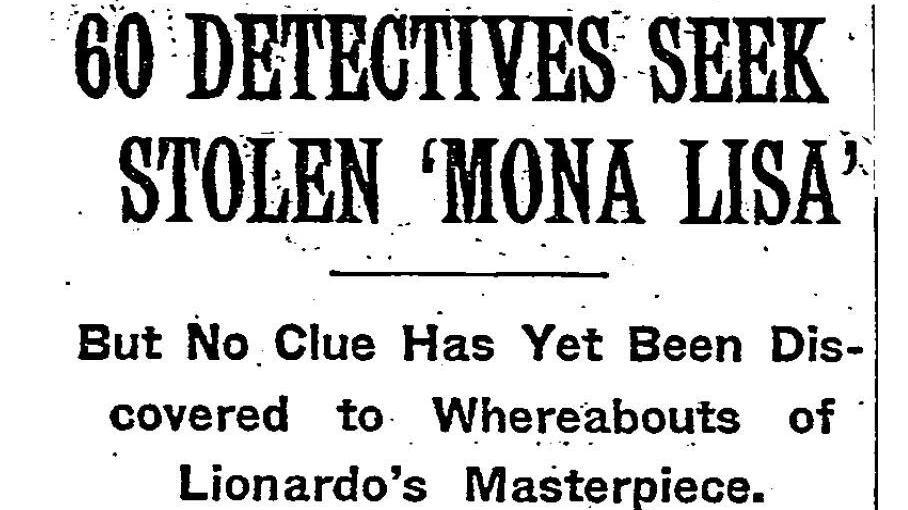 the theft that made the  u0026 39 mona lisa u0026 39  a masterpiece   npr
