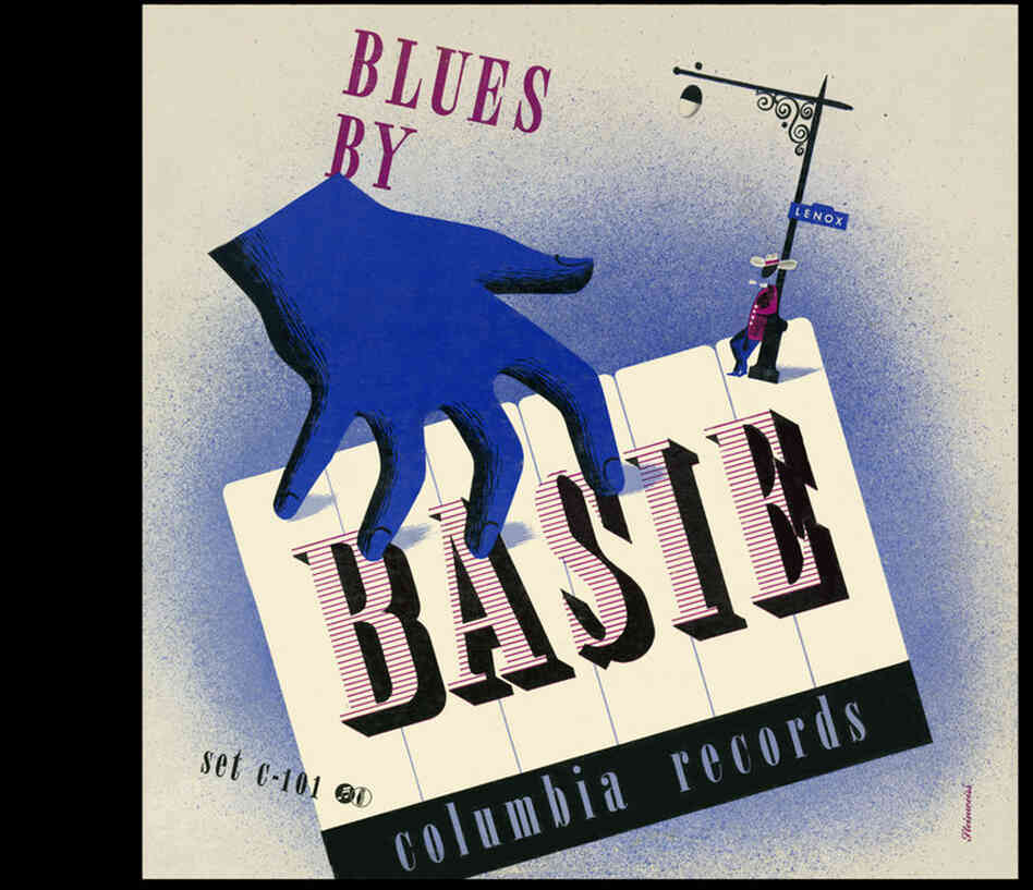 Steinweiss' work embraced jazz, Broadway and pop as well as classical; here, his take on a Count Basie album.
