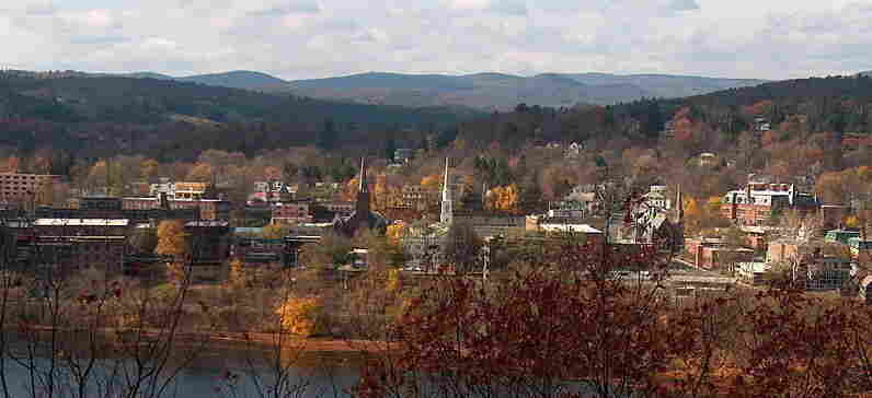 """Archer Mayor exposes the seedy underbelly of Brattleboro, Vt., in his mystery novels. But it's a challenge to bring out the dark side; Brattleboro, and Vermont in general, the author says, are """"inordinately pleasant"""" places."""