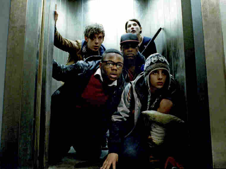 (clockwise from bottom left) Leeon Jones, Luke Treadaway, Jodie Whittaker, John Boyega and Alex Esmail are the London toughs who defend their turf from '80s-era slime monsters in Attack The Block, a deadpan horror-comedy that provokes real feelings for its mismatched characters.