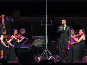 Michael Feinstein sings Gershwin, with strings.
