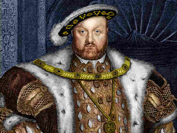King Henry VIII famously suffered from gout.